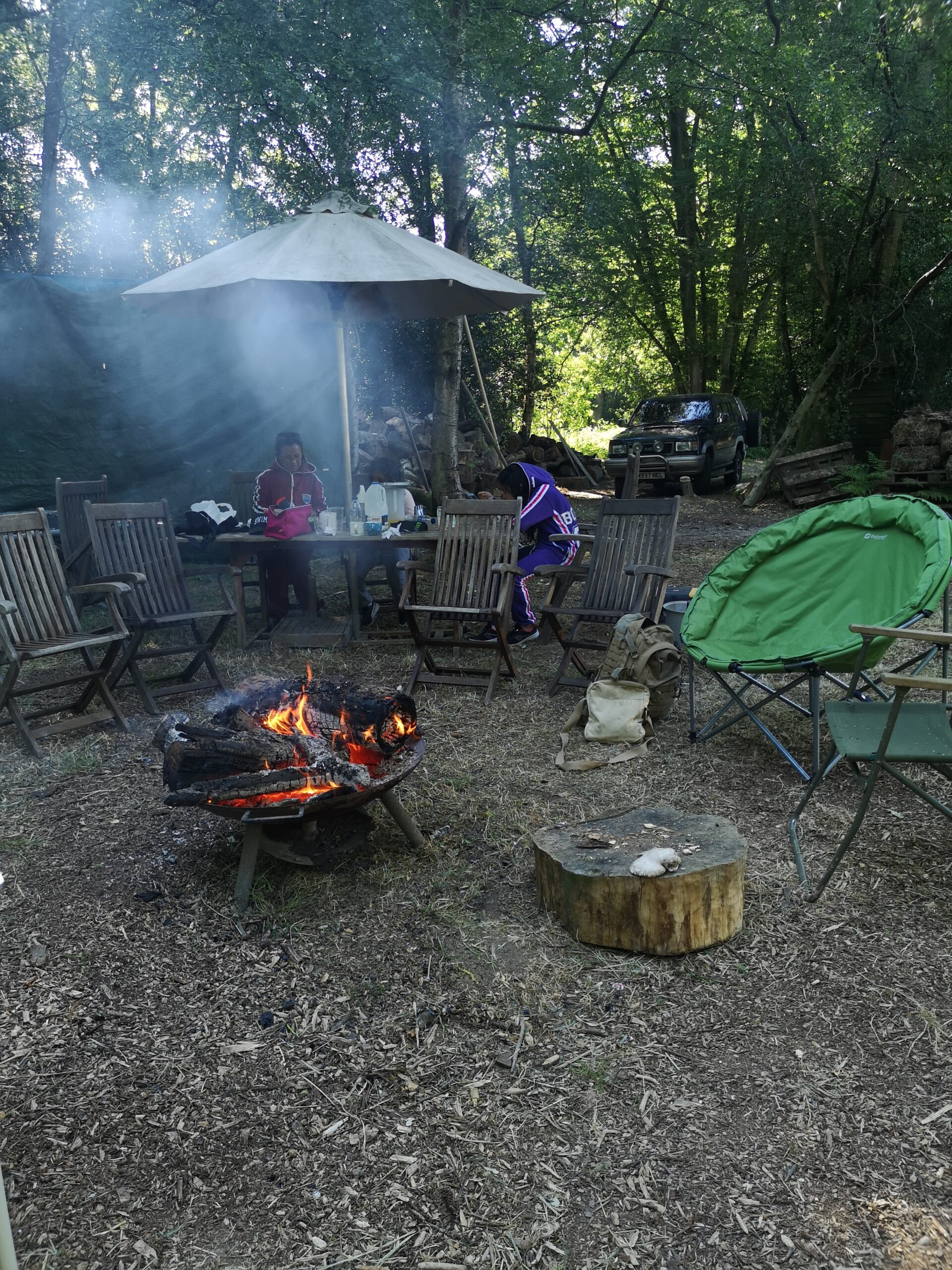 Wild Camping & Training - Camelot Events